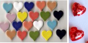 Herz Mosaiksteine