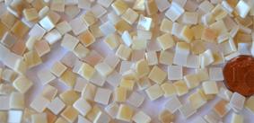 5x5mm Perlmutt- Mosaik