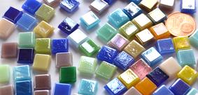 8mm Mosaiksteine schimmernd