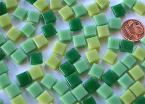 8mm Glas Mosaiksteine normal