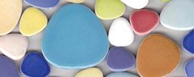 Pebbles Mosaiksteine