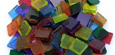 Tiffany Glas 1x1cm