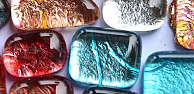 Soft-Glas Blattstruktur metallic