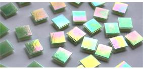 15x15mm Eis-Glas Mosaiksteine