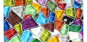Glitter Mosaiksteine