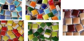 10x10mm Keramik Mosaiksteine