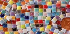 5x5mm Keramik Mosaiksteine
