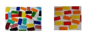 2,5x5 cm Mosaiksteine