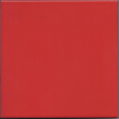 Keramische Fliese rot 1 St. ca. 19,7x19,7cm