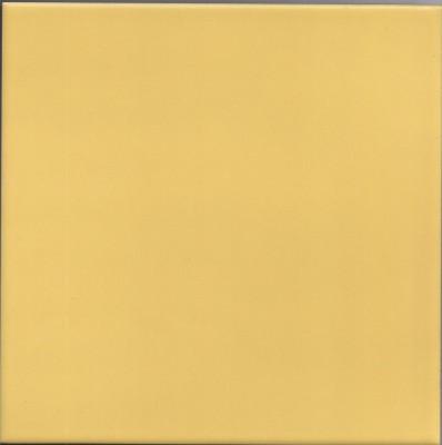 Keramische Fliese gelb 1 St. ca. 19,7x19,7cm