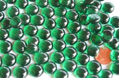 Deko Mosaiksteine Glasnuggets 10-12mm grün 70g ca. 50 St.