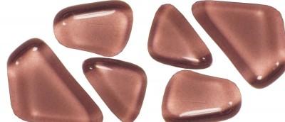 Soft- Glas Mosaiksteine unregelmäßig rosa 200g ca.130St.