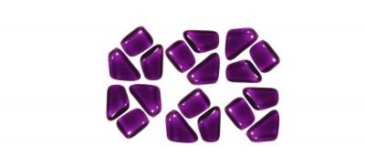 Soft- Glas Mosaiksteine unregelmäßig lila 200g ca.130St.