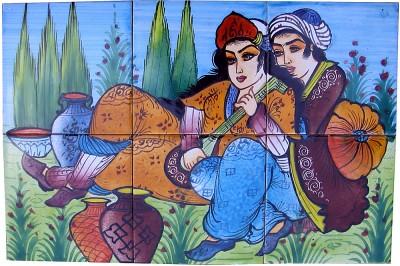 Orientalische Wandfliesen 30x45cm Neda-6
