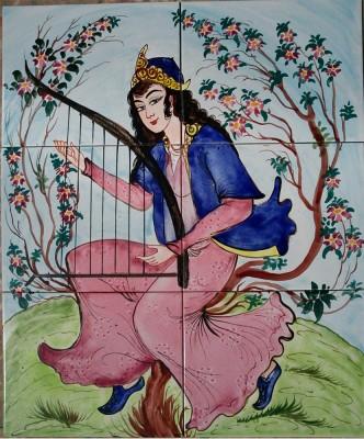 Orientalische Wandfliesen 60x50cm Chang-6 Deh
