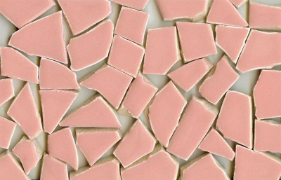 Bruchmosaik rosa, 400 g.- ca. 40-50 St.