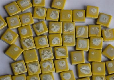 Mosaikfliesen mit Effekt 15x15 mm N52, 50 St. 140 g.