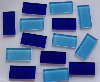 Softgals Mosaiksteine Blaumix 2,5x5cm 33 St.- ca. 380g