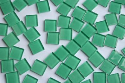 Crystal Mosaikfliesen grün 2x2 cm 100 St.- ca. 370g.