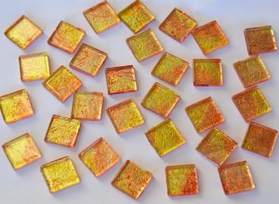 Mosaiksteine mit auffälligem Muster N1, 2x2 cm 30 St.- ca.110g