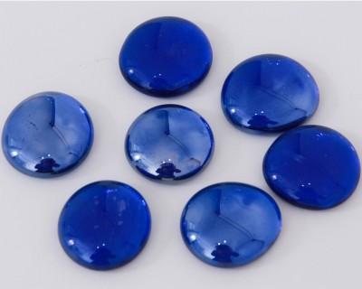 Deko Mosaiksteine Glasnuggets 26-33mm dunkelblau 6 St.- ca. 60g