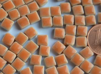 Mini Mosaiksteine orange, 5x5mm, 20g - ca. 120-150 St.