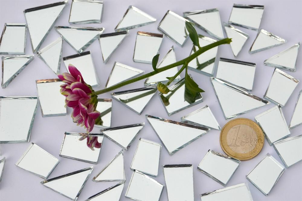 Mesoar 2400 St/ück Rose Gold Spiegel Mosaik Fliesen DIY Selbstklebend Handwerk Spiegel Mosaik Fliesen Mini Glas Aufkleber 5 mm x 5 mm