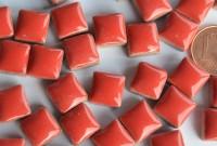 Mini Mosaiksteine Keramik rot 1x1cm 100g ca. 100 St.