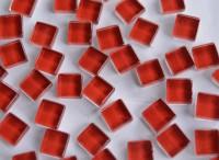 Mini Mosaik Crystal rot 1x1cm 220 St. ca. 180g