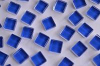 Mini Mosaik Crystal dunkelblau 1x1cm 220 St. ca. 180g