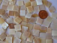Perlmutt- Mosaik 1x1 cm 50g ca.90St.