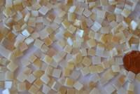 Perlmutt- Mosaik 5x5mm 50g ca.320St.