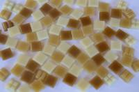 Mini Mosaiksteine 1x1cm Karamelmix 1000 St. ca. 700g