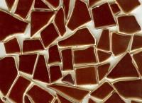 Bruchmosaik braun 400 g.- ca. 40-50 St.