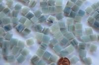 Mini Mosaik mit Flimmer Stein3, 1x1 cm 300 St.- ca.204g