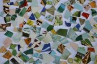 Bruchfliesen aus Fliesenbildern Muster N4, 500g- ca. 35-65 St.
