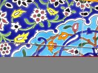Orientalische Wandfliesen 75x105 cm Pirooz