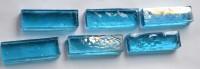 Deko Mosaiksteine irisierend 1,5x 4,8cm karibikblau 6 St.-ca.80g