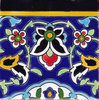 Orientalische Wandfliesen 60x60 cm Peyman-9