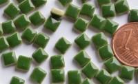 Mini Mosaiksteine grasgrün, 5x5mm, 20g - ca. 120-150 St.