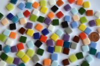 Fantasy Mosaiksteine 1x1cm Buntmix 100g. ca.100 St.
