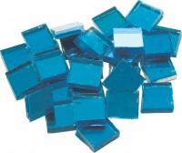 Spiegelmosaik blau 2x2cm 125g. ca. 40 Stück