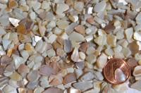 Mini Perlmutt- unregelmäßig natur AN2, 50g ca. 300-400St.
