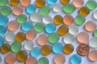 Glasnuggets Frost 13-15mm Deko Mosaiksteine bunt 50 St. ca.110g