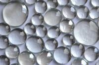 Glasnuggets glasklar-weiß 4 versch. Größen 13-33cm 400g ca116 St