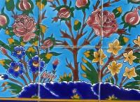 Orientalische Wandfliesen 60x45cm Golbol