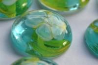 Deko Mosaiksteine Glasnuggets 19-21mm Blüte Nr.5, 1 St. ca. 4g