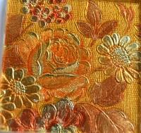 Glas Mosaiksteine Softglas 5x5cm Muster Blume 1 St. ca. 24g