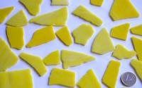 Tiffanybruch gelb Tiffany Glas 200g Glasstücke ca. 20-30St.