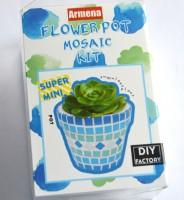 Mini Blumentopf N1, ca. 4cm Bastelset Mitbringsel, zum Wichten
